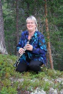Elisabeth på klarinett